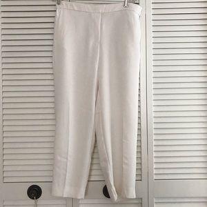 J Crew Factory Jamie Pants, Cream, NWT, Size 14